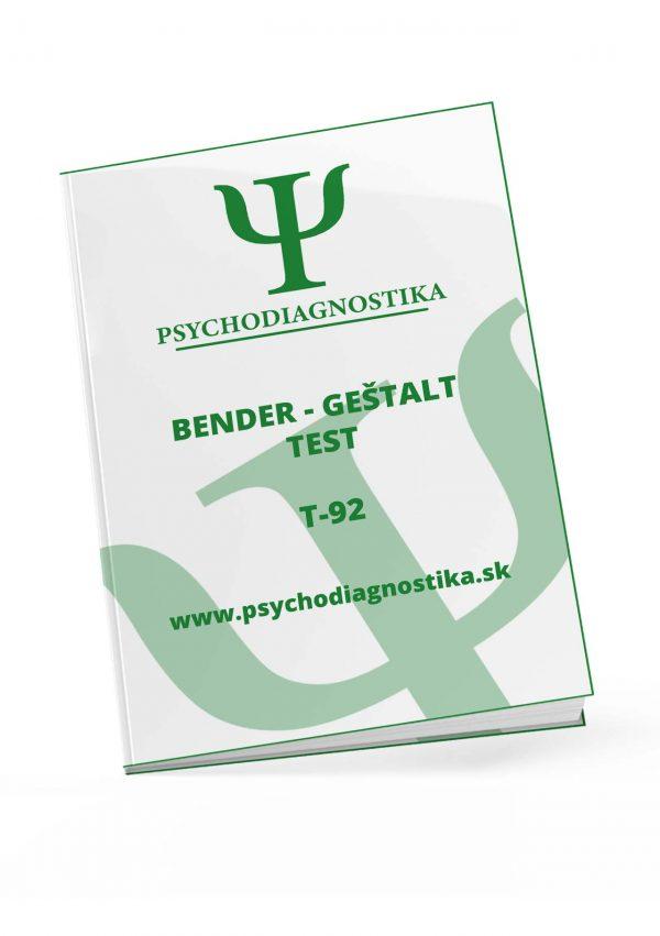 t-92 Bender - Geštalt test madarsky psychodiagnostika