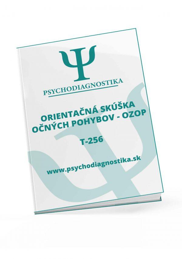 t-256-orientacka-skuska-ocnych-pohybov psychodiagnostika